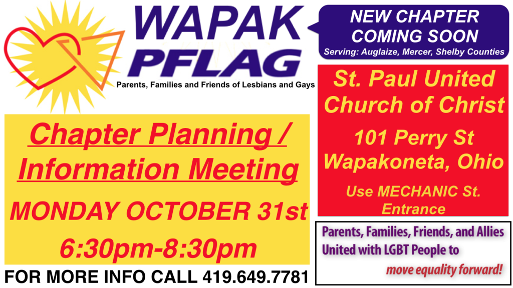 a report from a pflag meeting Jenny downs needed a place to ventno one should be hit in the face, right she saidwe were sitting in the monthly meeting of the local chapter of parents and friends of lesbians and gays, typically referred to as pflag.
